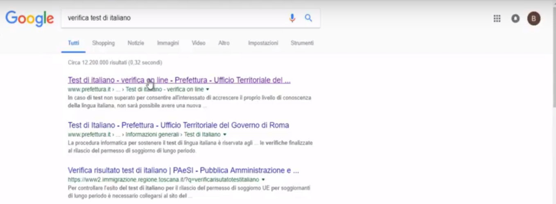 Hai Fatto L Esame Ora Verifica Il Risultato Del Tuo Test Di Italiano