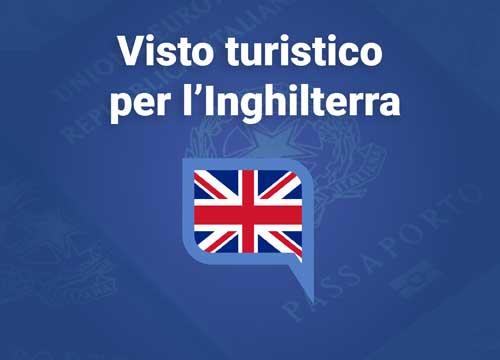 visto turistico per l'Inghilterra