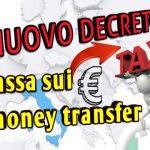 Tassa sui trasferimenti di denaro all